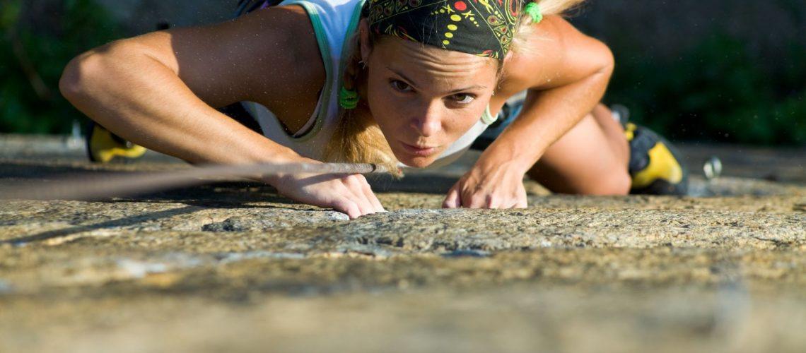 Brave climbing for blog